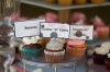 smores, cookies n cream and strawberry shortcake cupcakes