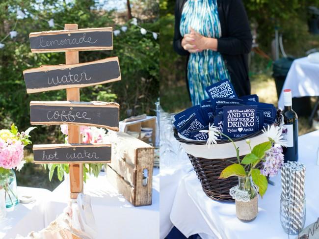 wedding reception drink sign  captured by aubrey joy photography