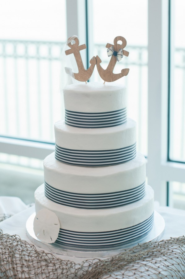 nautical wedding cake nautical themed wedding at st pete 17732