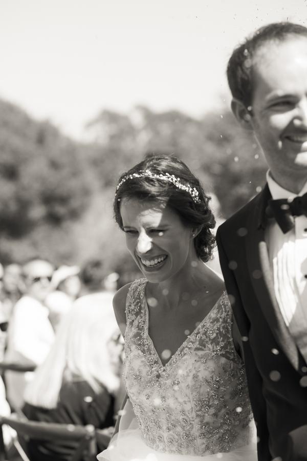19 bride and groom walking down aisle