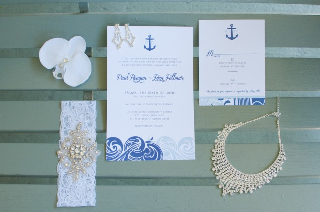 Nautical Themed Wedding at St Pete Beach – Nautical Theme Wedding Invitations