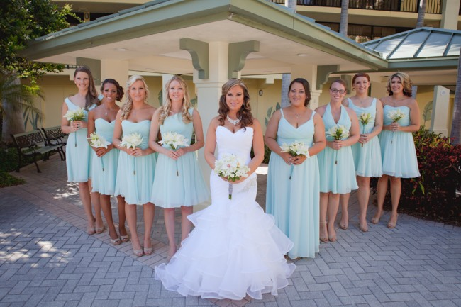 Nautical Themed Wedding at St Pete Beach