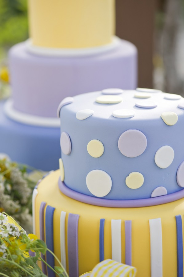purple and yellow wedding cake ideas relaxed rustic wedding amp lavender 18887