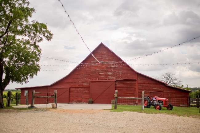 Big red barn wedding venue Rustic Grace Estates