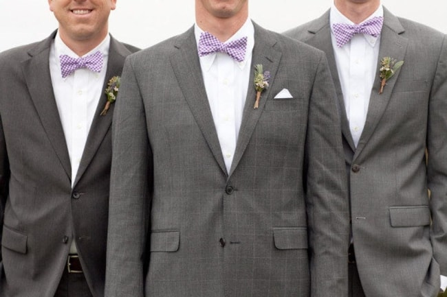 Groom Gingham Style Bowtie