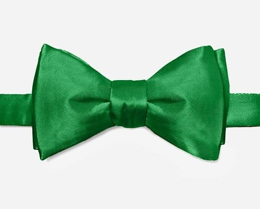 Groom's Green Bow Tie