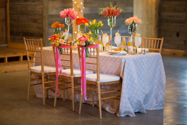 table scape at Rustic Grace Estate