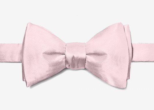 Pink Wedding bow ties