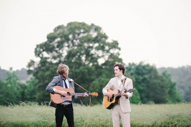 38 Guitarist playing for wedding ceremony at  Lindsey Plantation in Greer SC wedding