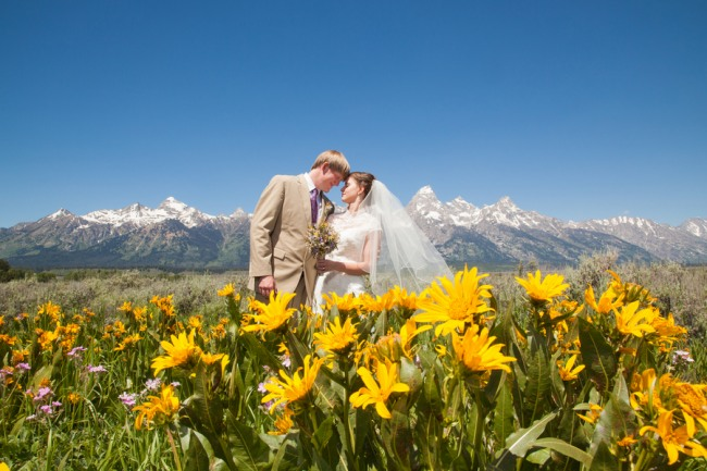 Grand Teton National Park Wedding With A View