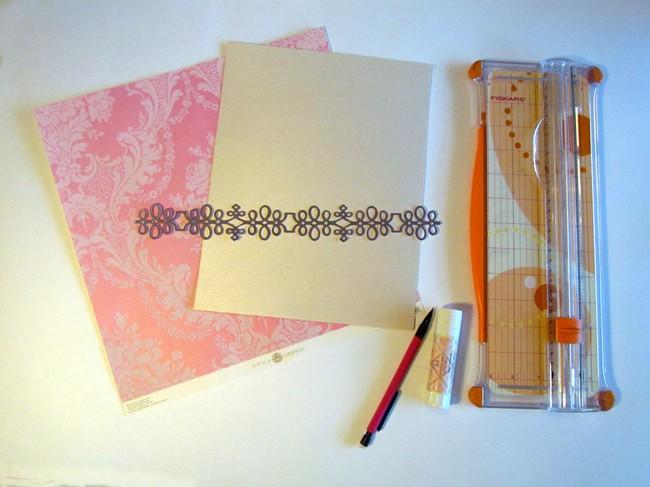 xyron and ann griffin DIY wedding menu supplies