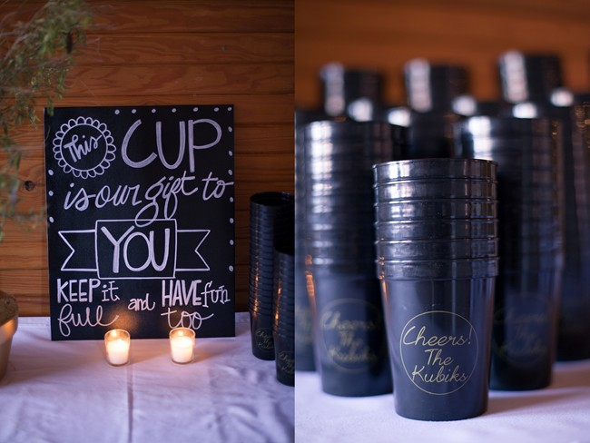 15 wedding guest personalized cups and wedding favors