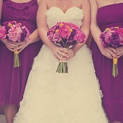 Colorful Church Wedding