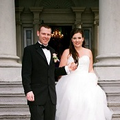 Hycroft Wedding Couple