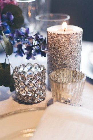 silver sparkle glitter candle sticks, crystal jewel candle holders silver