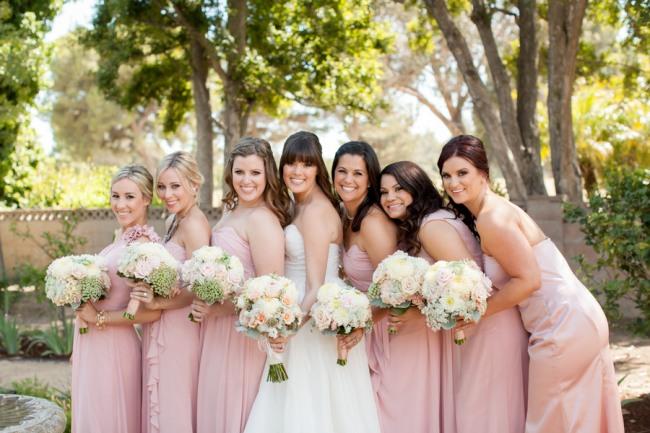 17 A DIY Spring Backyard Chic Wedding