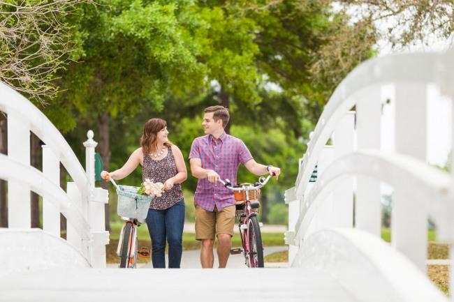 21 Biking and picnic engagement