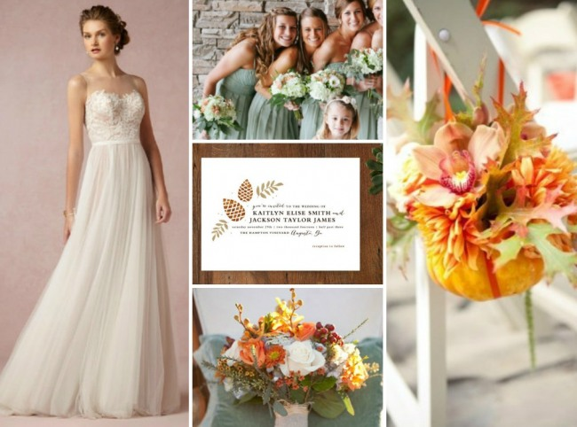 Bridal Style for autumn wedding inspiration