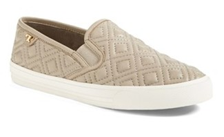 Tory Burch 'Jesse' Quilted Leather Sneaker