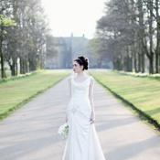rowallan castle bridal shoot