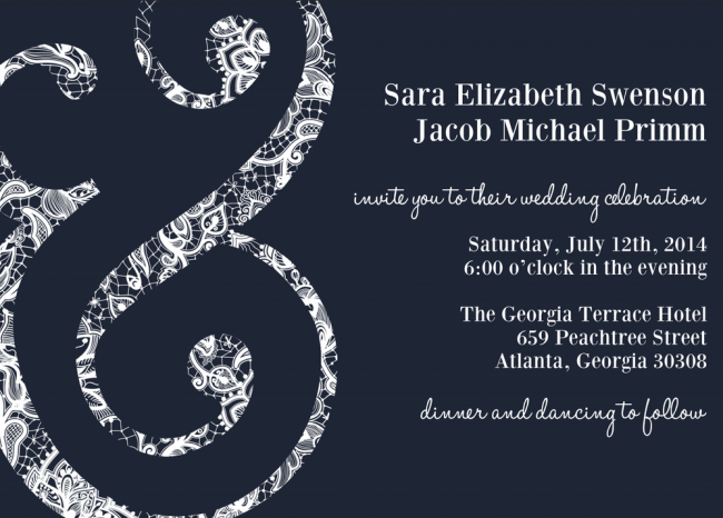 Ampersand_Wedding_Invitation feature