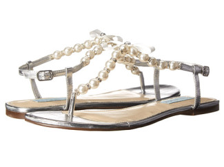 Blue by Betsey Johnson Pearl pearl sandals