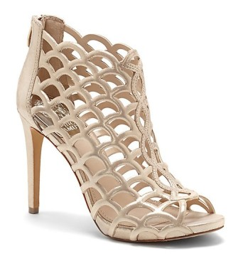 'Fontanela' scalloped basket cut sandal