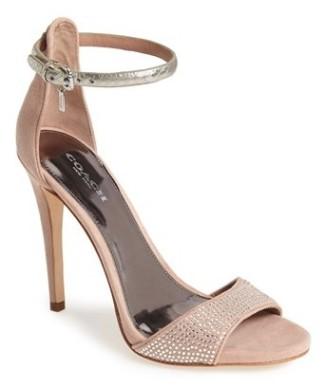 'Josephina' Stiletto ankle strap sandal