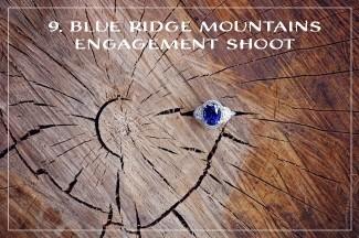 BLUE RIDGE MOUNTAINS ENGAGEMENT SHOOT
