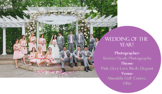 Best Love and Lavender Wedding of the year