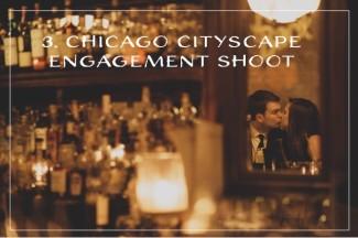 Chicago Cityscape Engagement Shoot