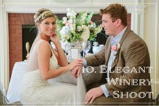 Elegant Winery Shoot