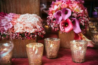 Monochromatic-Wedding-Flower-Centerpieces