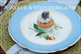 alice and wonderland styled shoot