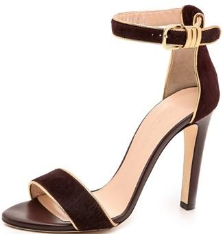 club_monaco_casey_haircalf_sandals_-_burgundy_gold
