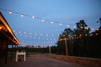 outdoor space at Rum Creek Farm perfect for a wedding