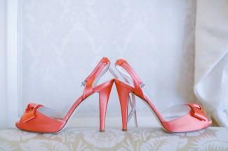 Coral heels form BHLDN