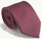 maroon colored necktie