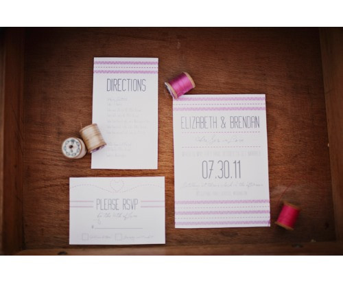 Sew-in-love-wedding-stationery-set