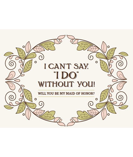 photo relating to I Can't Say I Do Without You Free Printable known as Botanical Bliss Wedding day Stationery - Cost-free Printable