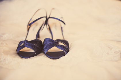 Nina Camille navy blue shoe