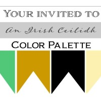 Irish wedding color palette