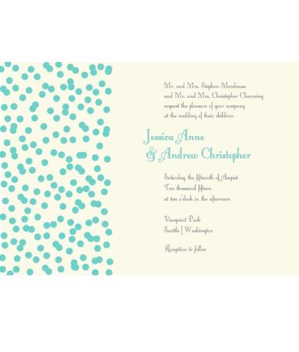 Spinkles Invite Blue