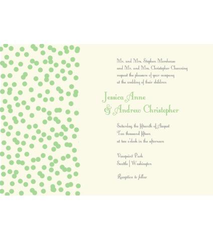 Spinkles Invite Green