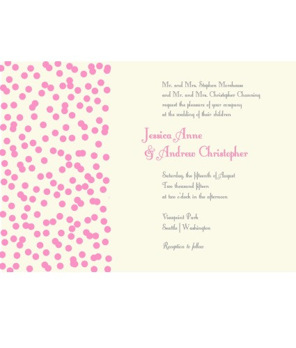 Spinkles Invite Pink