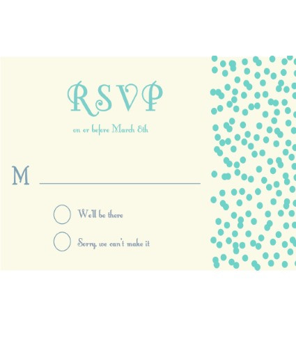 Sprinkles RSVP Blue