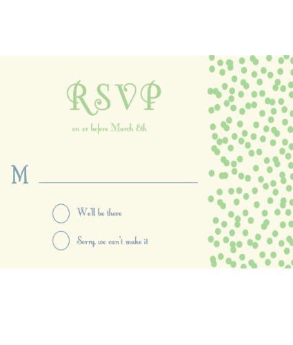 Sprinkles RSVP Green