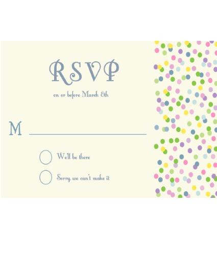 Sprinkles RSVP Multicolor