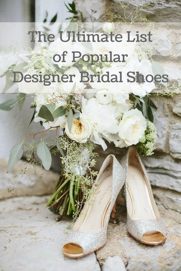 popular designer bridal shoe hero image