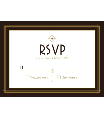 cats meow RSVP